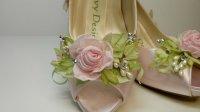 Buty z kwiatkiem